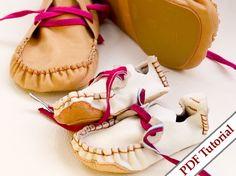 Child - Woman 36-42 sizeLeather Retro Shoes Pattern