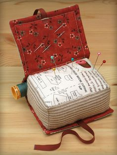 Book Pincushion | Flickr - Photo Sharing!