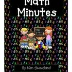 FREE- This easy-to-use math supplement is perfect to fill those few extra minutes we sometimes have throughout the day! There are 50 quick and easy math.