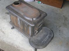 How To Restore A Wood Burning Stove - http://SurvivalistDaily.com/how-to-restore-a-wood-burning-stove/