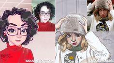 Artista transforma pessoas aleatórias na internet em cartoons