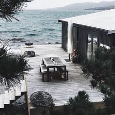 Untitled home architecture house by the sea, house, the beach people. House By The Sea, My House, House On The Beach, Ocean House, Outdoor Spaces, Outdoor Living, White Beach Houses, Haus Am See, The Beach People