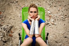 Ann Mikitiuk for Design Scene  sweet arm cuffs