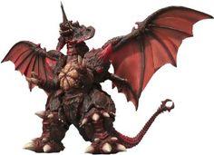 "Amazon.com: Bandai Tamashii Nations Destroyah (Complete Version) ""Godzilla vs Destroyah"" - S.H. MonsterArts: Toys & Games"