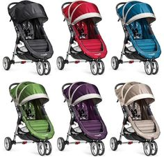 Baby Jogger City Mini Compact Lightweight 3-Wheel Stroller NEW CHOOSE COLOR