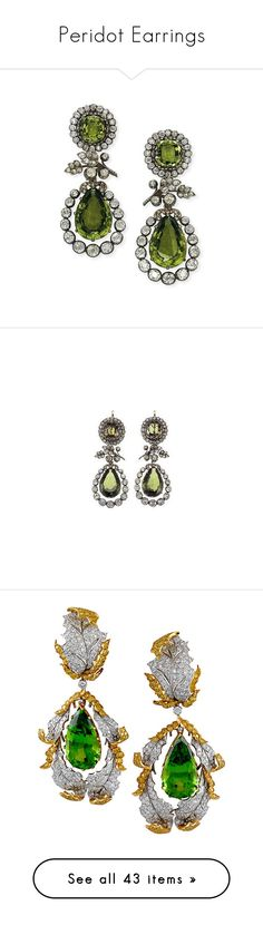 """""""Peridot Earrings"""" by sakuragirl ❤ liked on Polyvore featuring earrings, accessories, jewelry, jewel earrings, galaxy jewelry, blue jewelry, galaxy earrings, cosmic jewelry, green and joias"""