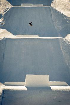 #snowboarding alone