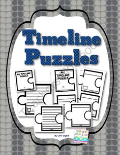 Timeline Puzzles - Teaching Timelines! Enter for your chance to win 1 of 5.  Timelines Puzzles - Teaching Timelines (37 pages) from Kindergarten Boom Boom on TeachersNotebook.com (Ends on on 1-9-2014)  Tired of the same old Timeline Activities? This product puts a fun new twist to teaching timelines. 5 winners will receive my spin on Timeline Teaching. I hope you enjoy! Cara ;)