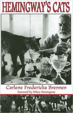 Ernest Hemingway - Carlene Brennen, award winning photojournalist, author and Hemingway Scholar. Hemingway Cats, Ernest Hemingway, Hemingway House, Crazy Cat Lady, Crazy Cats, Polydactyl Cat, Amur Leopard, Book Authors, Books