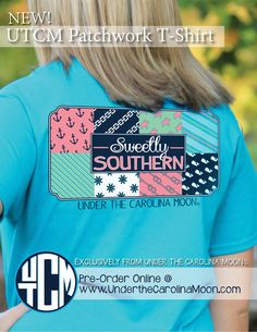 Sweetly Southern Nautical Patchwork T-shirts are available at www.underthecarolinamoon.com  #sweetlysouthern #patchwork #underthecarolinamoon