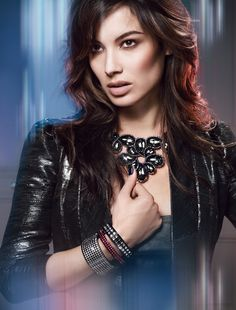 Berenice Marlohe, her grace, beauty and larger-than-life sparkle make her the perfect face for the Kingdom of Jewels collection