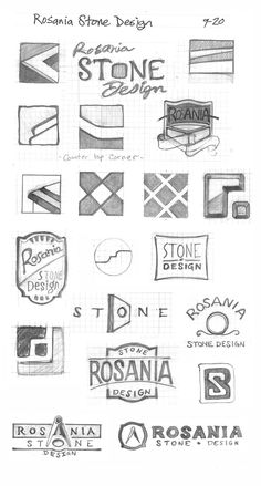 Pencil Sketches / Ideation by David Peters, via Behance