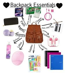 I hope u guys like this and goodluck on the new school School Emergency Kit, Emergency Kit For Girls, School Kit, School Bags, School Classroom, School Ideas, Middle School Hacks, High School Hacks, Life Hacks For School