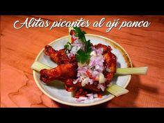 Alitas Picantes al Ají Panca - A Comer
