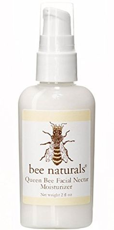 Best All Natural Face and Neck Moisturizer - Queen Bee Facial Nectar - Wonderful Formulation of Vitamin E and Natural Oils - True Love for Your Skin - 2 Oz *** You can find out more details at the link of the image.