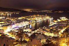 My hometown Bergen by Svein-Magne Tunli on 500px
