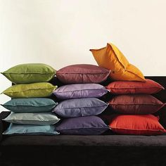 Washed Linen/Cotton Pillow Covers