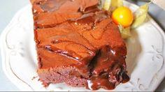 Восхитительный шоколадный брауни с соленой карамелью