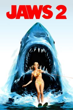 Jaws 2 - Review: Jaws 2 (1978) is a 1h 56-min American adventure thriller-horror film that is the second installment in the… #Movies #Movie