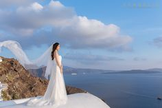 Wedding in Santorini bridal make up & hair- Νυφικό μακιγιάζ και μαλλιά Christine Panagopoulou Photography by http://www.vangelisphotography.com/