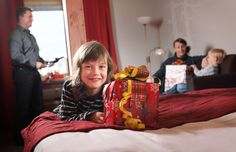 Santa Claus Holiday Village in Rovaniemi: high quality accommodation at the Arctic Circle in Lapland in Finland: hotel standard accommodation in Santa Claus Village in your own cabin