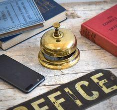 #hotel #reception #bell #service #vintagedecor