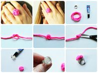 DIY Knot Ring