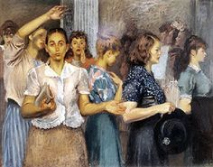 Shop Girls--Raphael Soyer