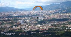 Si tu #DestinoFavorito es #Bucaramanga visitanos en www.easyfly.com.co/Vuelos/Tiquetes/vuelos-desde-bucaramanga Largest Countries, Countries Of The World, Spanish Speaking Countries, Paragliding, How To Speak Spanish, South America, Places Ive Been, Paris Skyline, Waterfall
