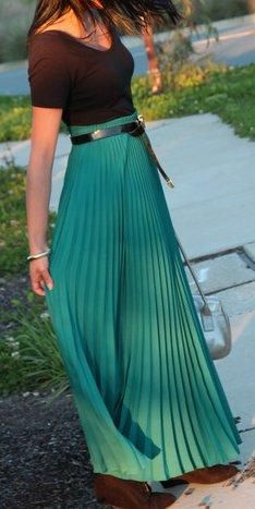 3b9001c50 63 Best Pleated maxi images in 2019 | Pleated skirt outfit, Clothing ...