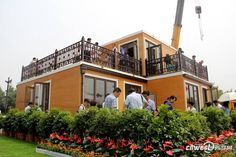 zhouda house completed photo