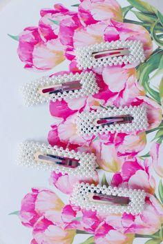 Πιαστρακι μαλλιων Statement Pearls - BLUSHGREECE