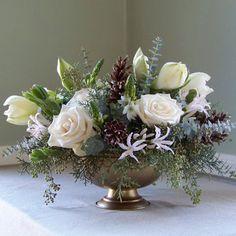 Wedding, Flowers, Pink, White, Centerpiece, Green, Brown, Blue - Project Wedding
