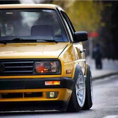 Golf mk 2 with front of jeta