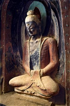 Dunhuang Mogao Cave 248 penance like (Northern Wei)