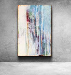This piece in my series Reflection sees the abstract nature of a reflection on calm water, a store window or a distant mirror, and how if of True Colors, Colours, Original Paintings, Original Art, Abstract Nature, Artist Gallery, Best Artist, Contemporary Paintings, Art For Sale
