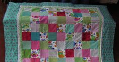 Neu!! Kinderdecke große Eulen!  von Meine bunte Flickenecke auf DaWanda.com
