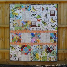 Cabbage Quilts: A Finish and a Sending Off!