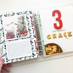 Like the single photo with the journaling underneath Christmas Mini Albums, Christmas Journal, Christmas Minis, Christmas Art, Xmas, December Daily, Scrapbooking Layouts, Scrapbook Cards, Daily Journal