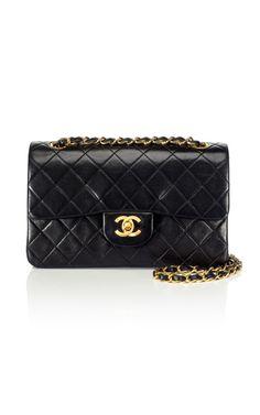 Vintage Chanel Classic Double Flap Bag