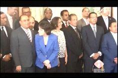 El Presidente Danilo Medina se reune en el Palacio Nacional para juramentacion de los nuevos 44 funcionarios