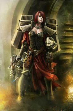 Sisters of Battle Seraphim.