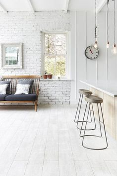 This Ultra-Stylish London Home Nails Industrial Chic via @MyDomaineAU