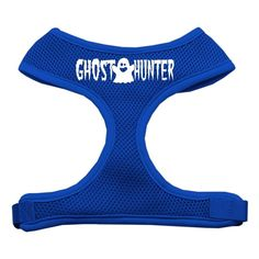 Mirage Pet Products Ghost Hunter Design Soft Mesh Dog Harnesses, Large, Blue * Check this awesome product by going to the link at the image. (This is an affiliate link and I receive a commission for the sales)