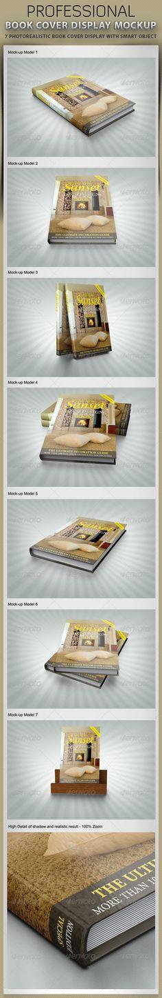 Book Cover Display Mockup Download here: https://graphicriver.net/item/book-cover-display-mockup/2461057?ref=KlitVogli