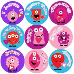 <p>These colourful Monster Hearts Praise Words reward stickers are perfect to make a big impression on young learners and can be used with any Reward System.</p>