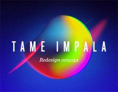 Ознакомьтесь с этим проектом @Behance: «Tame Impala - Redesign Concept» https://www.behance.net/gallery/49093195/Tame-Impala-Redesign-Concept