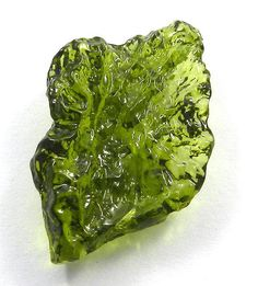 3.80GM Unique Chinese MOLDAVITE 18x30mm uneven rough attractive jewelry gemstone #magicalcollection #gemstones #jewelry