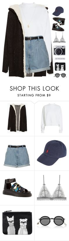 """""""NEW EMOJI?'s + MORE"""" by samiikins ❤ liked on Polyvore featuring Zara, Acne Studios, Polo Ralph Lauren, Dr. Martens, Monki and ASOS"""