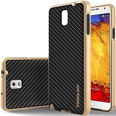 Galaxy Note 4 Case, Caseology [Bumper Frame] Samsung Galaxy Note 4 Case [Carbon Fiber Black] Slim Fit Skin Cover [Shock Absorbent] TPU Bumper Galaxy Note 4 Case [Made in Korea] (for Samsung Galaxy Note 4 Verizon, AT&T Sprint, T-mobile, Unlocked) Caseology